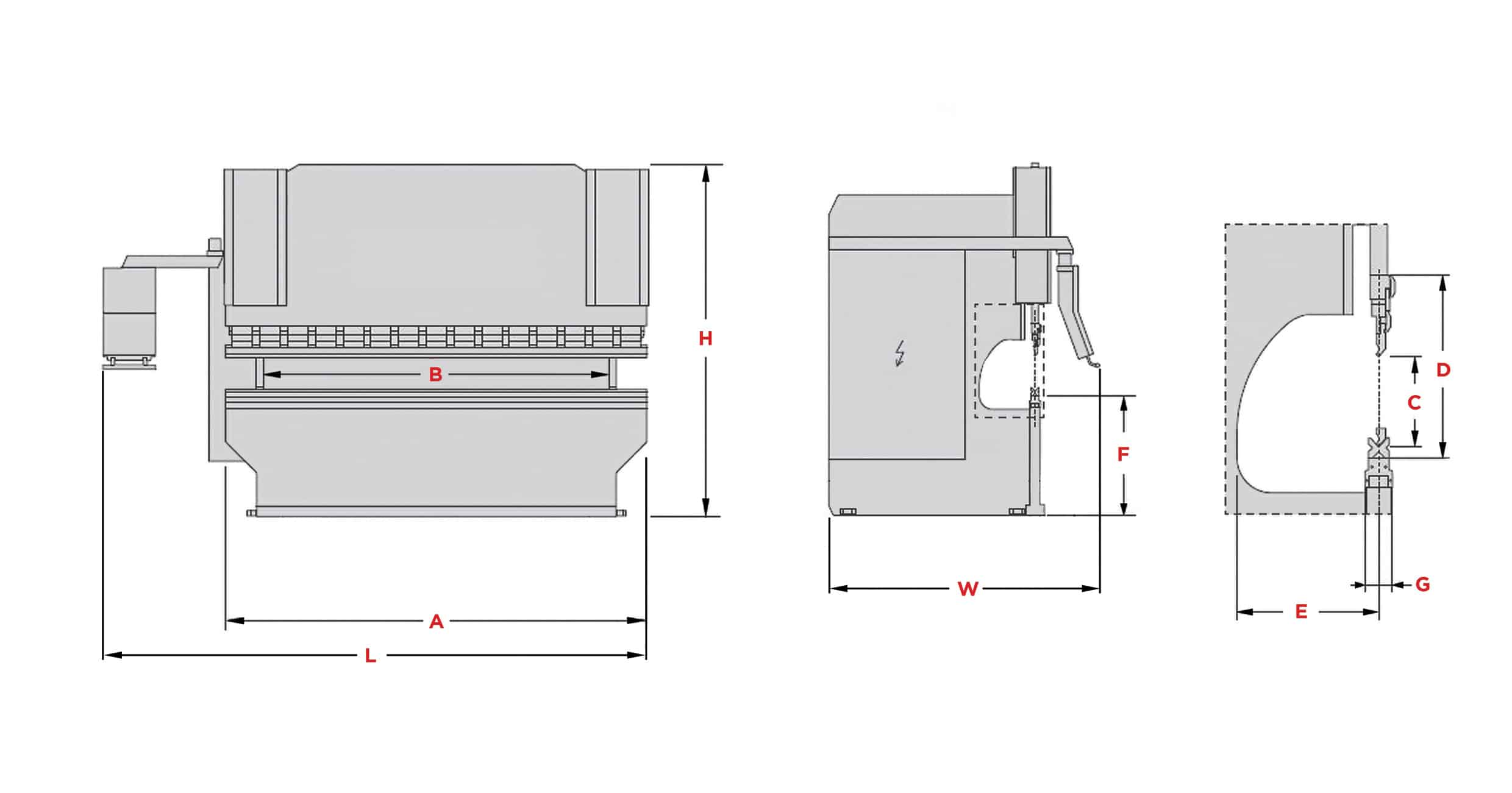 Morgan Rushworth Press Brake PB-PBS Diagram