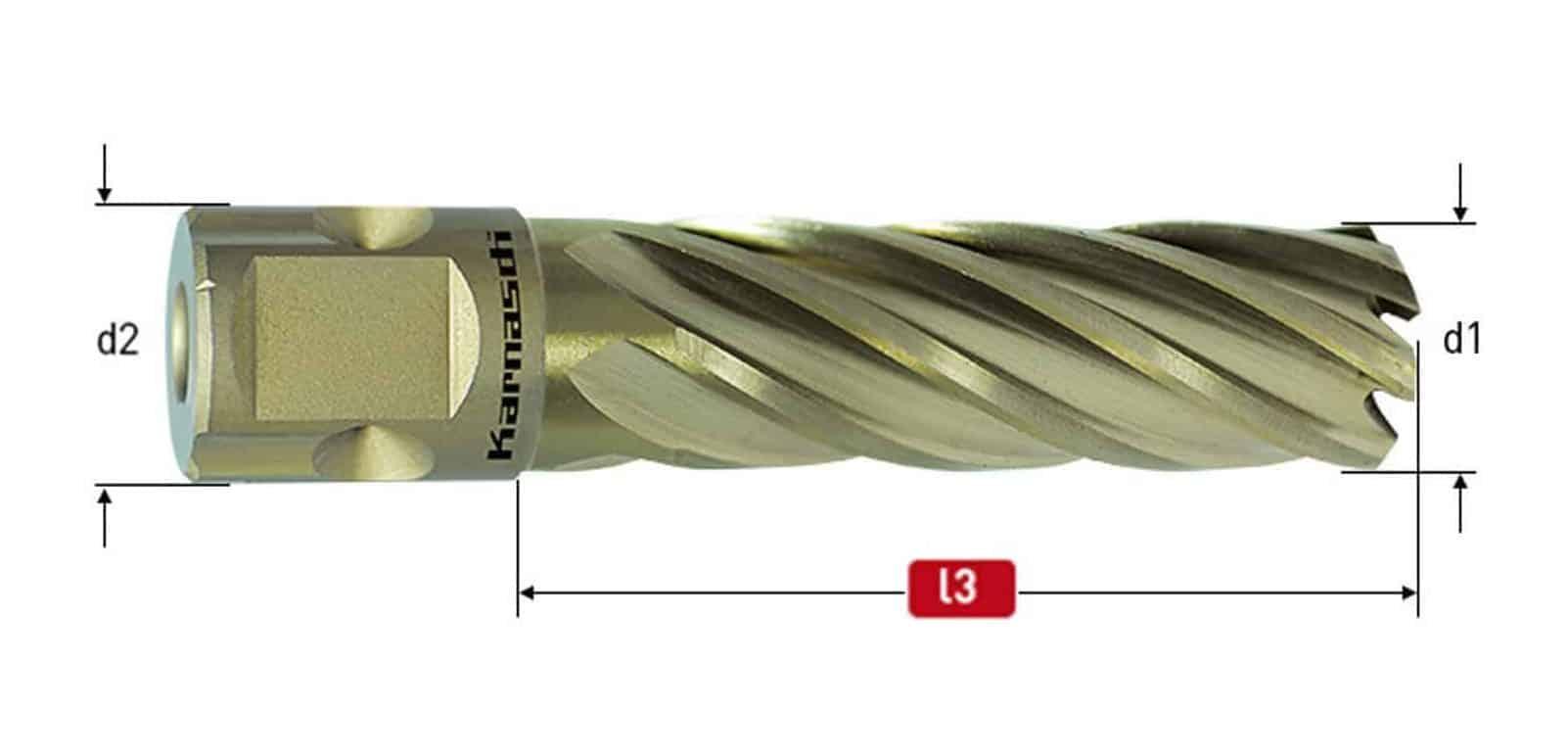 Goldline Universal TCT 55mm Mag Cutter