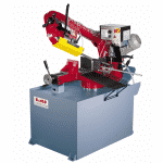 Front view of the Bianco-330-MS-Pull-Down-Auto-Downfeed-Single-Mitre-Bandsaw