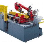 Side view of the Bianco-A-DS-CNC-Fully-Automatic-Double-Mitre-Bandsaw