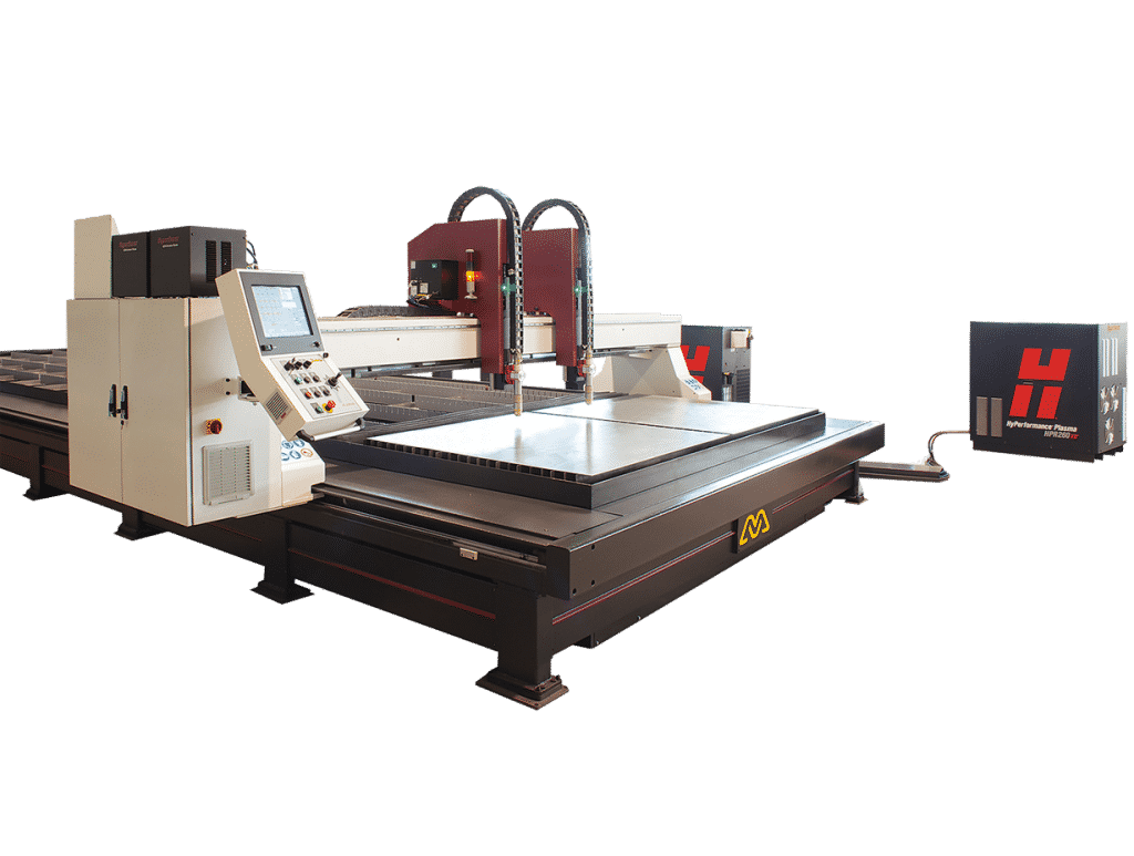 Main view - Morgan-Rushworth-HDPX-High-Definition-CNC-Plasma-Cutting-Machine