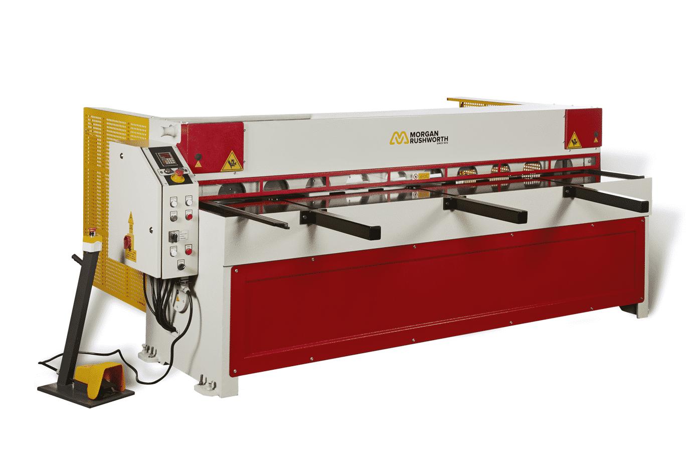 Morgan Rushworth Rgms Mechanical Guillotine Shear 415v