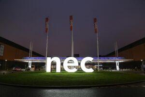 Image outside NEC Birmingham