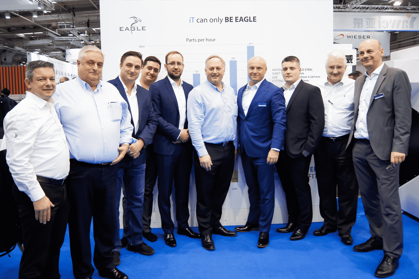 The UK Machinery Group at EuroBLECH