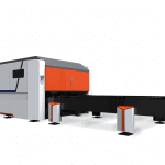 Side view of the RVD PRO Fibre Laser Table