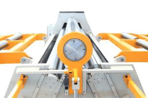 End view of an ASBR Bending Roller