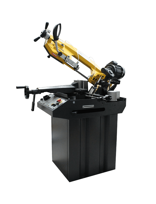 Sterling-210-Pull-Down-Bandsaws---240v-side-view