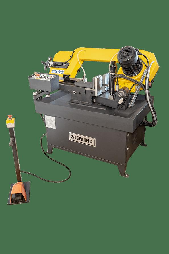 Sterling SRA 230 DGSA Semi-Automatic Double Mitring Bandsaw 415v image