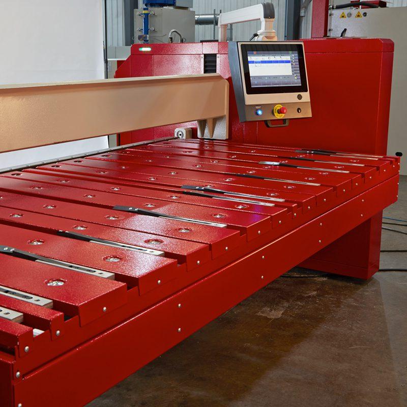 Morgan Rushworth CNC Folder Backgauge
