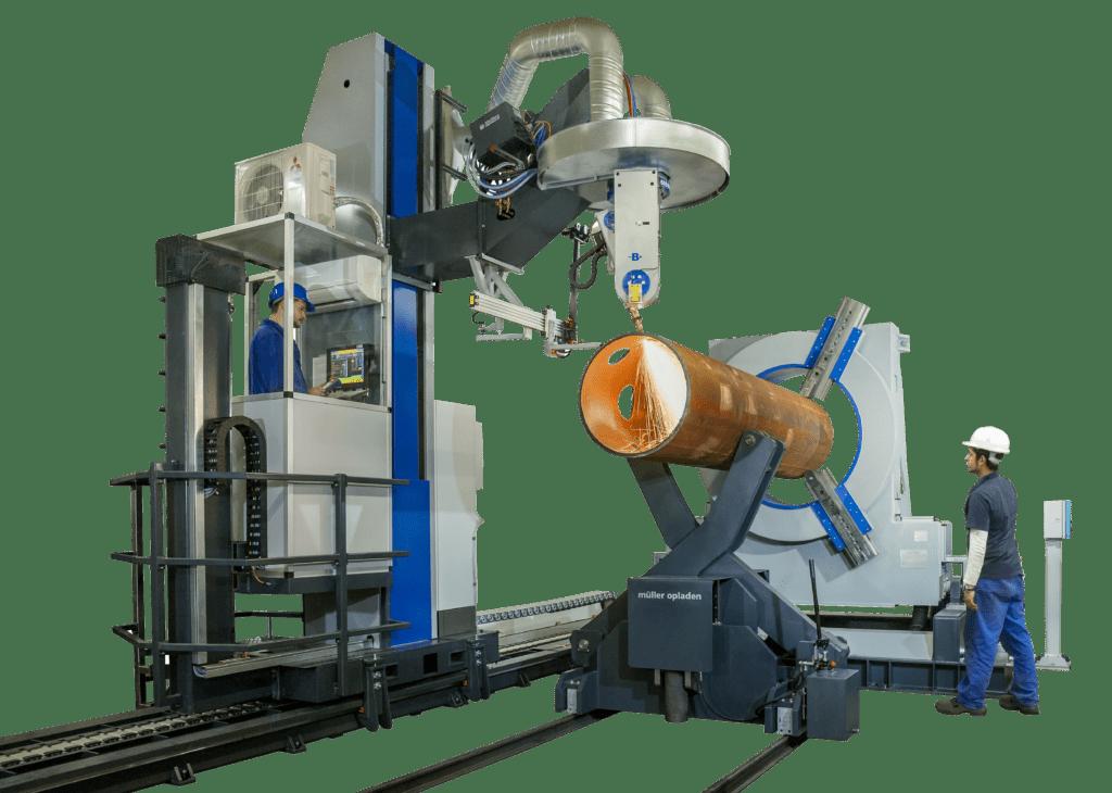 Mueller Opladen 3D Pipe Profiling Machines image