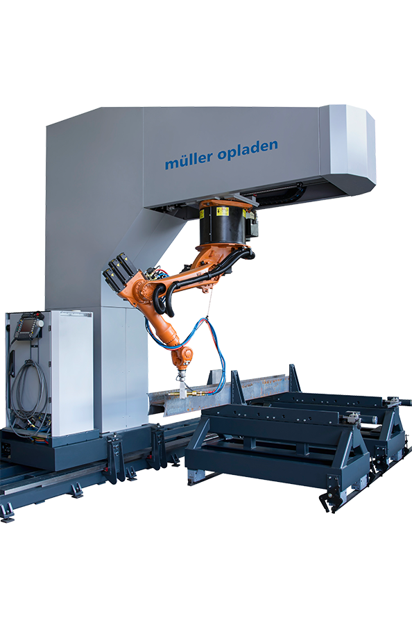 Mueller Opladen 3D Robotic Section Profiling Machines image